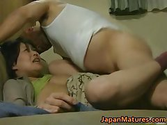Japanese MILF has crazy sex free jav part1